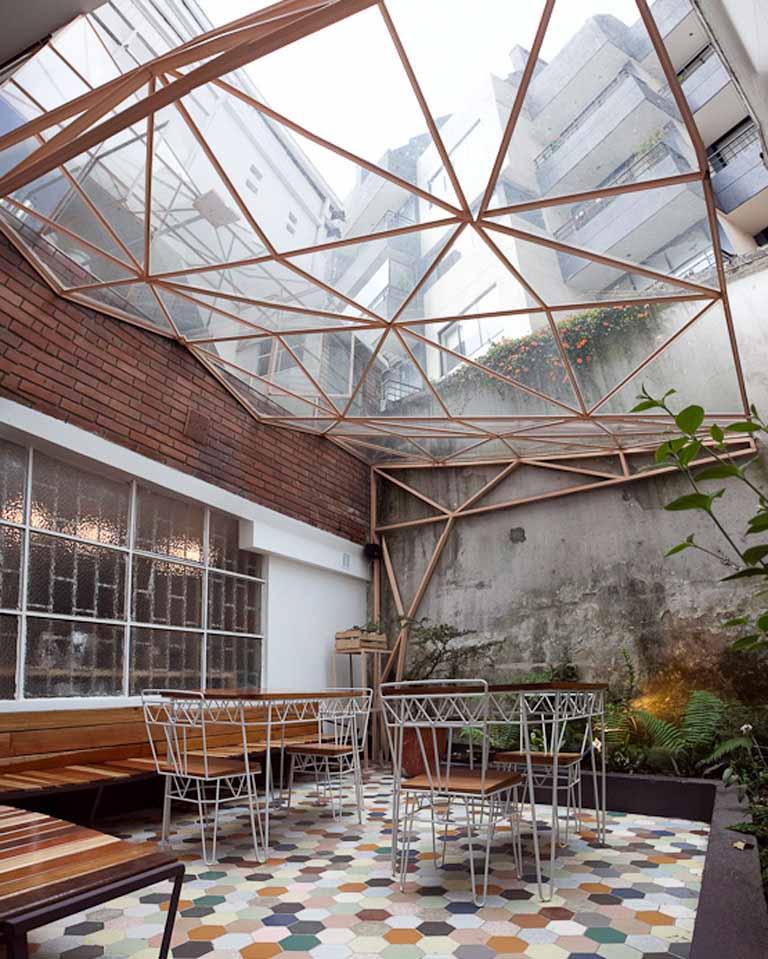 Yemail Arquitectura salón de té