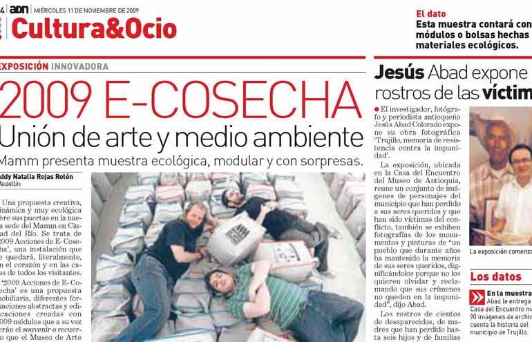 e-Cosechas 2009 en ADN Medellín