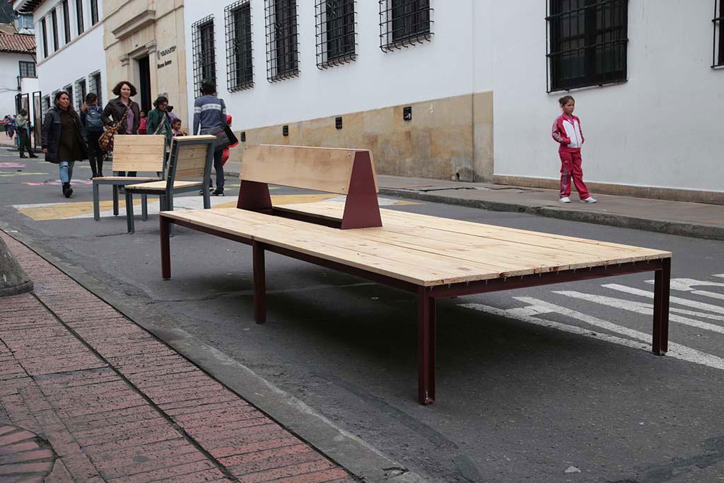 Mobiliario de Bogotá Taller del Espacio Público – Secretaría Distrital de Planeación 2016-2019