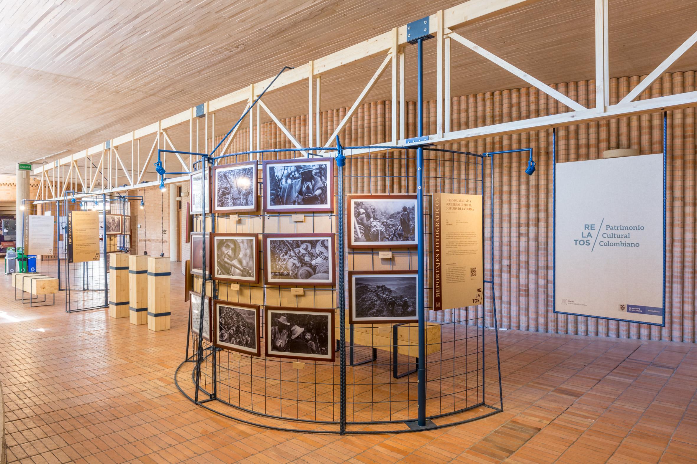 Exposición Relatos Patrimonio Cultural Centro Cultural Gabriel Garcia Marquez 2018