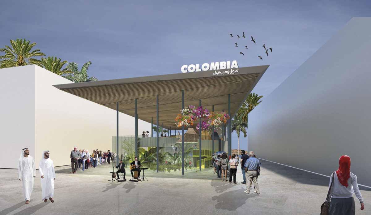 Concurso Pabellón Colombia EXPO DUBAI 2020