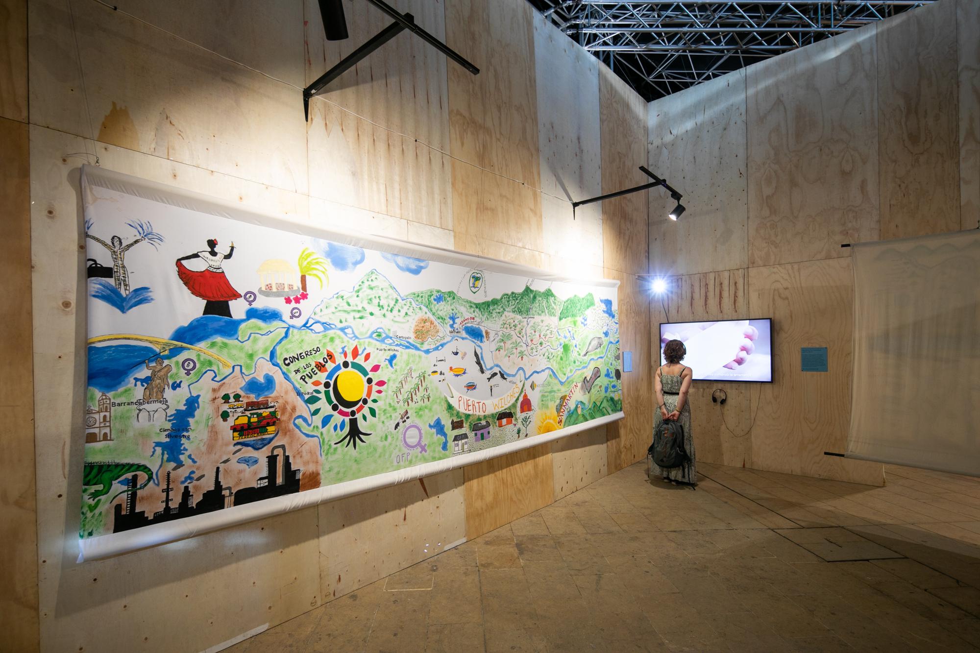 Pabellón Museo de Memoria Histórica de Colombia  Medellín 2018