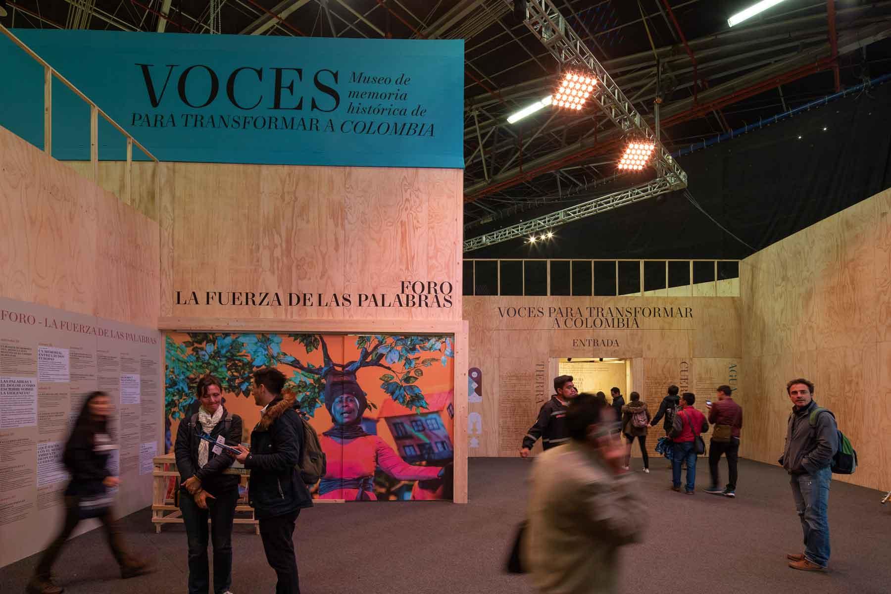 Pabellón Museo de Memoria Histórica de Colombia FILBO 2018